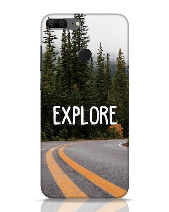 Shop Explore The Mountains Huawei Honor 9 Lite Mobile Cover-Front