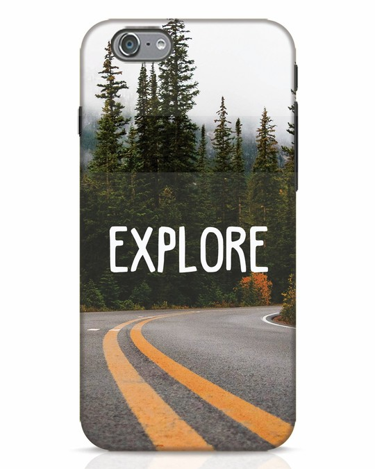 Shop Explore The Mountains iPhone 6 Mobile Cover-Front