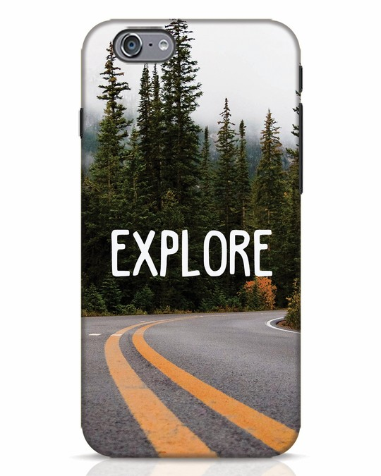 Shop Explore The Mountains iPhone 6s Mobile Cover-Front