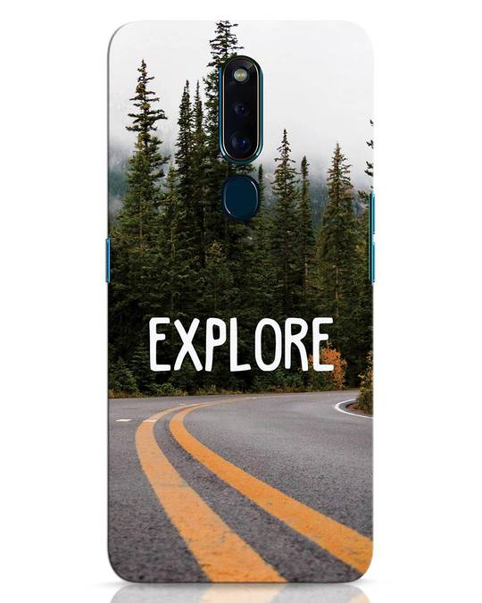 Shop Explore The Mountains Oppo F11 Pro Mobile Cover-Front