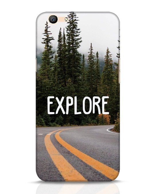 Shop Explore The Mountains Oppo F1s Mobile Cover-Front