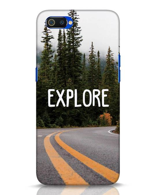 Shop Explore The Mountains Realme C2 Mobile Cover-Front