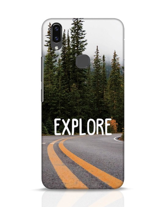 Shop Explore The Mountains Vivo V9 Mobile Cover-Front