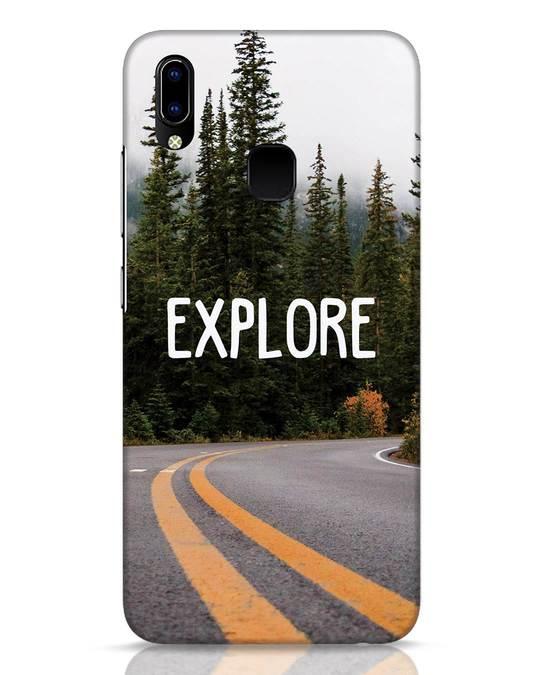 Shop Explore The Mountains Vivo Y93 Mobile Cover-Front