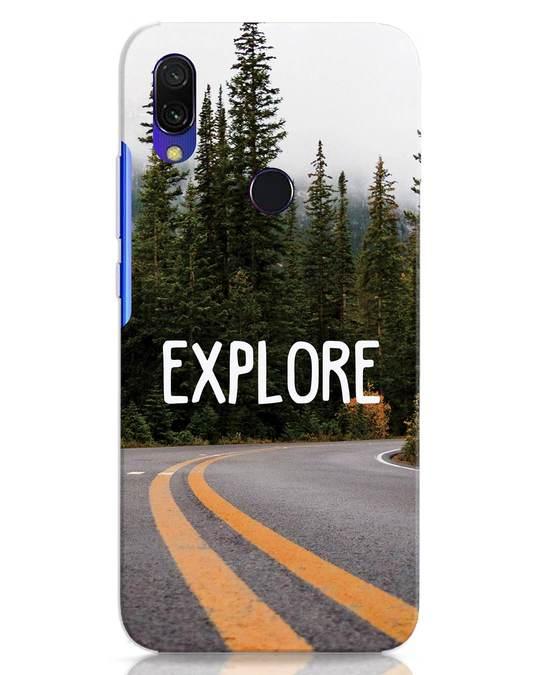 Shop Explore The Mountains Xiaomi Redmi 7 Mobile Cover-Front