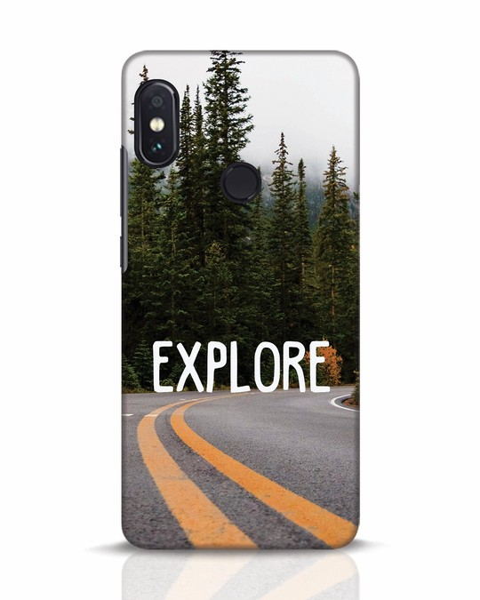 Shop Explore The Mountains Xiaomi Redmi Note 5 Pro Mobile Cover-Front