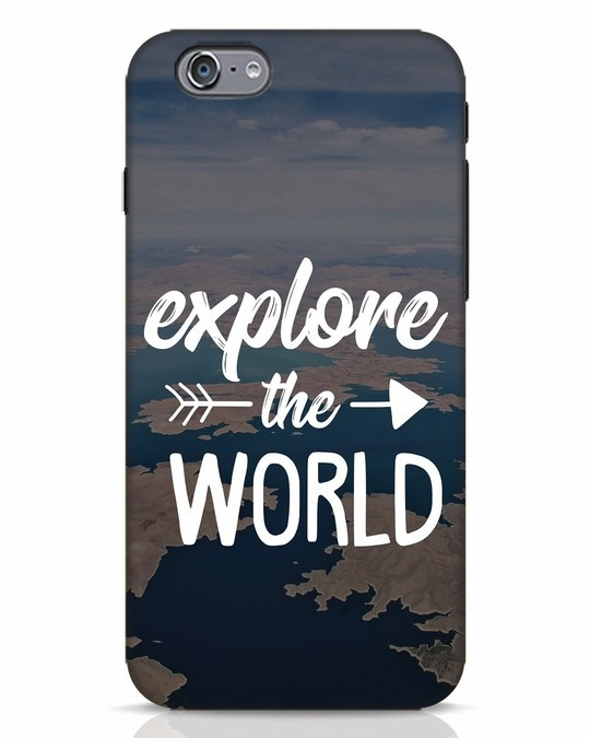 Shop Explore The World iPhone 6s Mobile Cover-Front