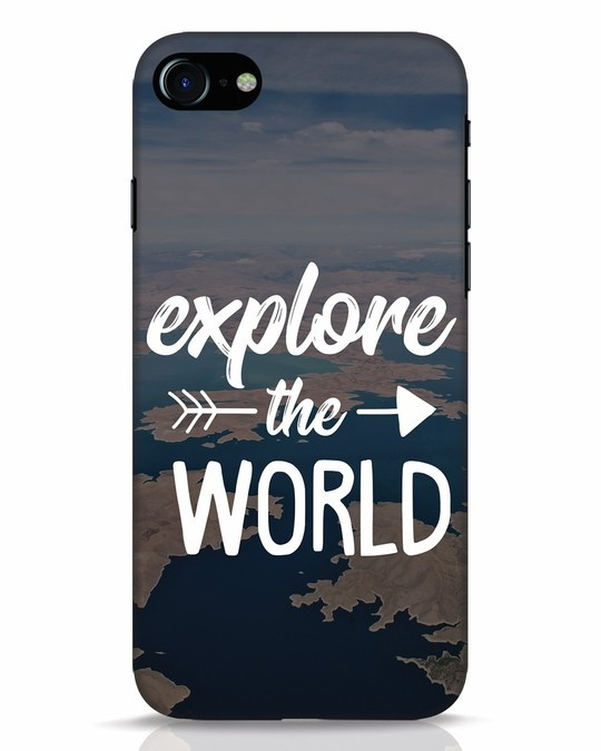 Shop Explore The World iPhone 7 Mobile Cover-Front