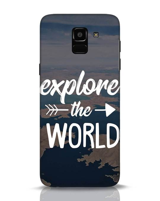 Shop Explore The World Samsung Galaxy J6 Mobile Cover-Front