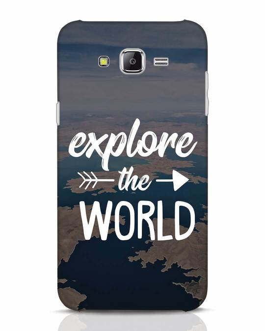 Shop Explore The World Samsung Galaxy J7 Mobile Cover-Front