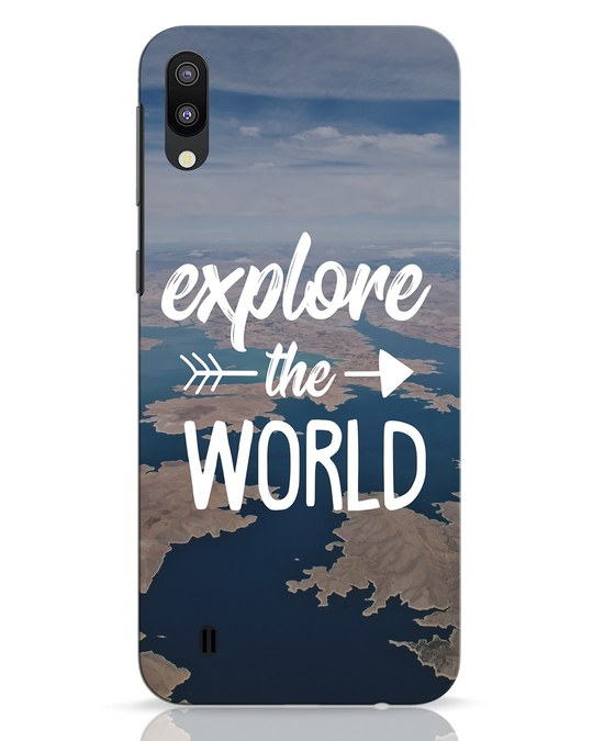 Shop Explore The World Samsung Galaxy M10 Mobile Cover-Front