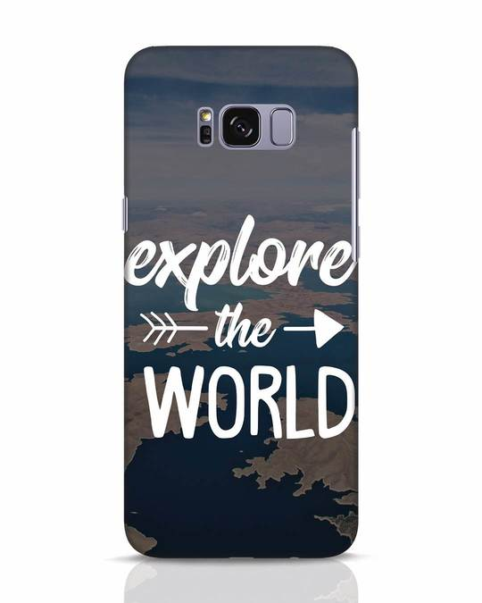 Shop Explore The World Samsung Galaxy S8 Mobile Cover-Front