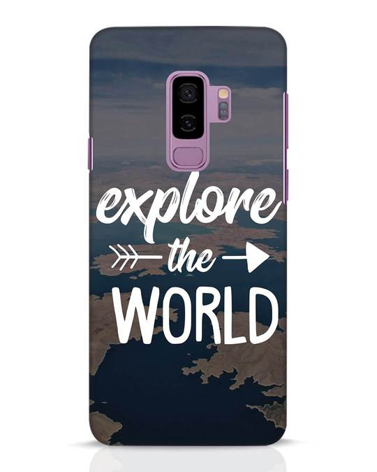 Shop Explore The World Samsung Galaxy S9 Plus Mobile Cover-Front