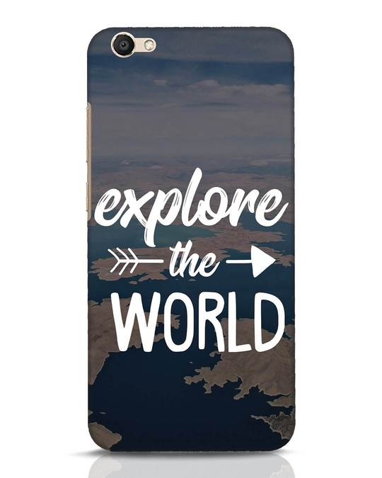 Shop Explore The World Vivo V5 Mobile Cover-Front