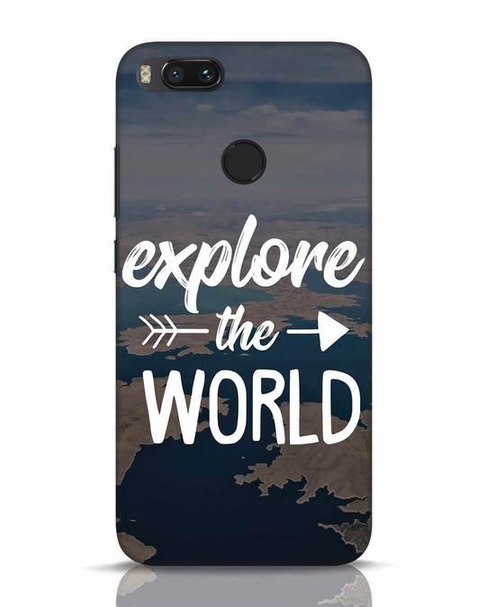 Shop Explore The World Xiaomi Mi A1 Mobile Cover-Front