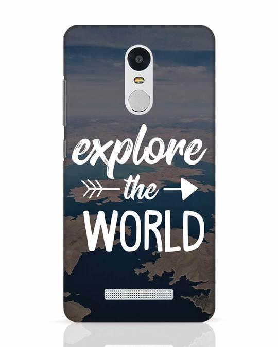Shop Explore The World Xiaomi Redmi Note 3 Mobile Cover-Front