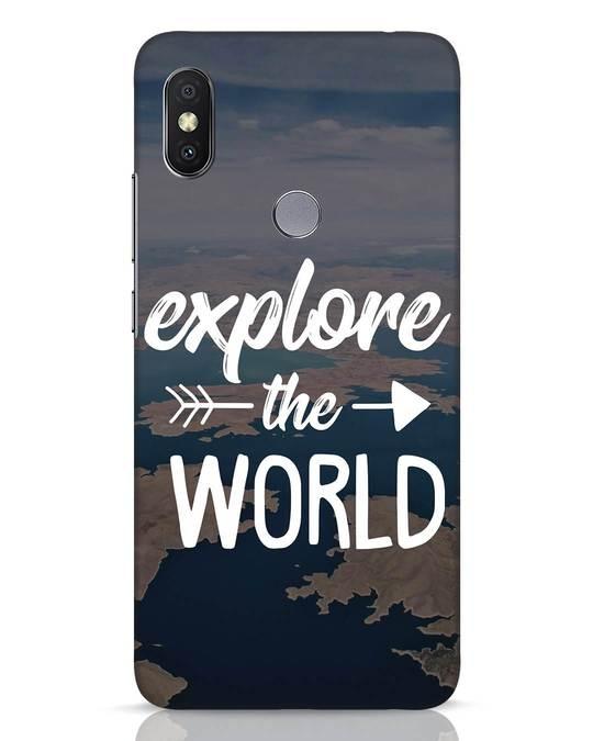 Shop Explore The World Xiaomi Redmi Y2 Mobile Cover-Front