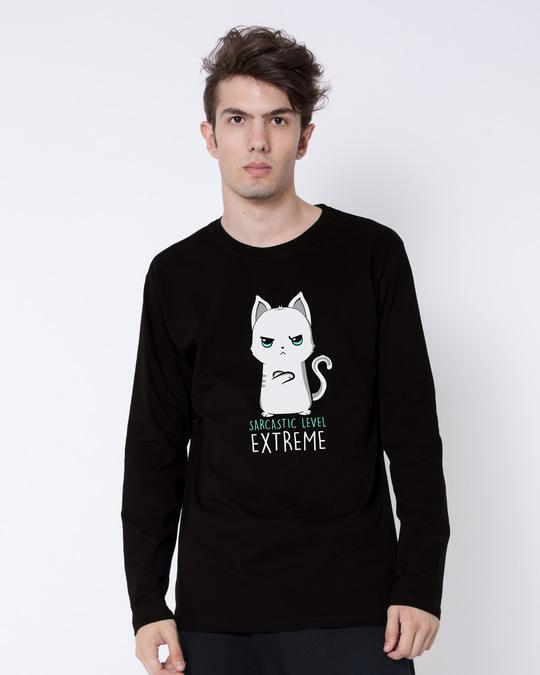 Shop Extreme Sarcasm Full Sleeve T-Shirt-Front