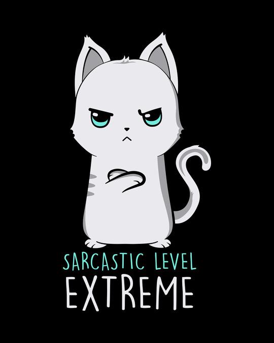 Shop Extreme Sarcasm Round Neck 3/4th Sleeve T-Shirt