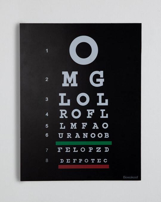 Shop Eye Test Designer Wall Frame-Front