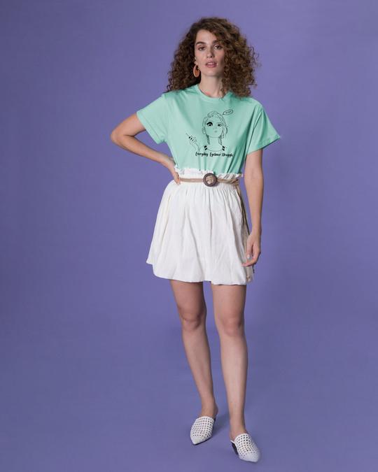 Shop Eyeliner Struggle Boyfriend T-Shirt-Design