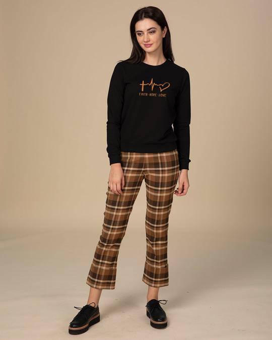 Shop Faith.love.hope Light Sweatshirt-Design