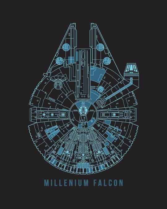 Shop Falcon Neon Millenium Boyfriend T-Shirt (SWL)