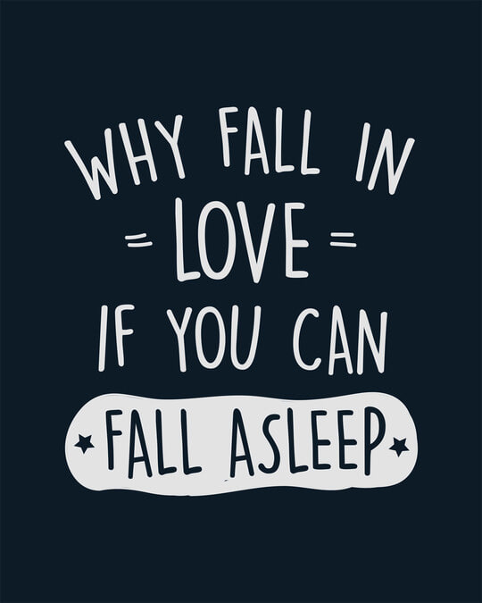 Shop Fall Asleep Boyfriend T-Shirt