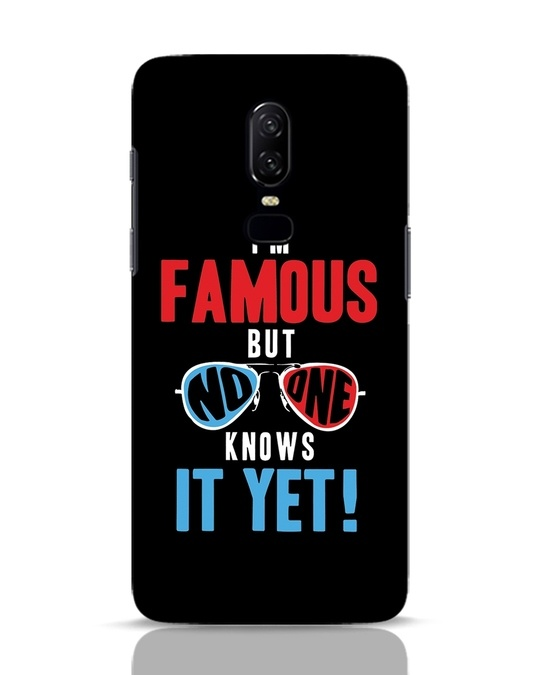 Shop Famous OnePlus 6 Mobile Cover-Front