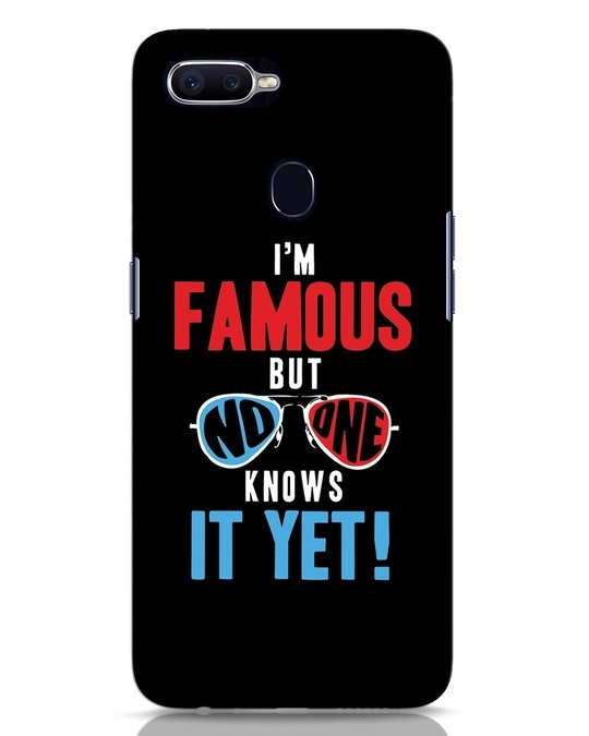 Shop Famous Oppo F9 Pro Mobile Cover-Front
