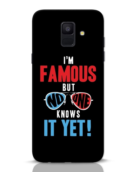Shop Famous Samsung Galaxy A6 2018 Mobile Cover-Front