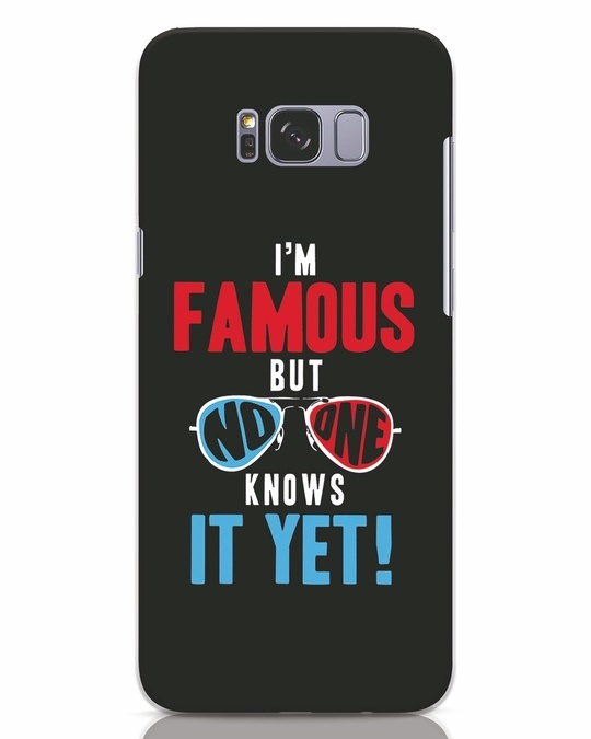 Shop Famous Samsung Galaxy S8 Plus Mobile Cover-Front