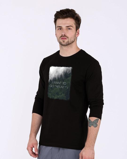 Shop Far Away Full Sleeve T-Shirt-Back