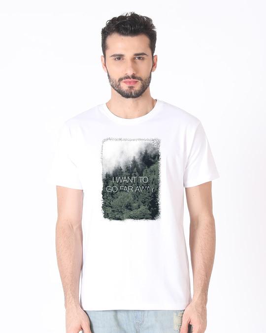 Shop Far Away Half Sleeve T-Shirt-Back