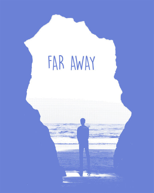 Shop Far Away Travel Half Sleeve T-Shirt