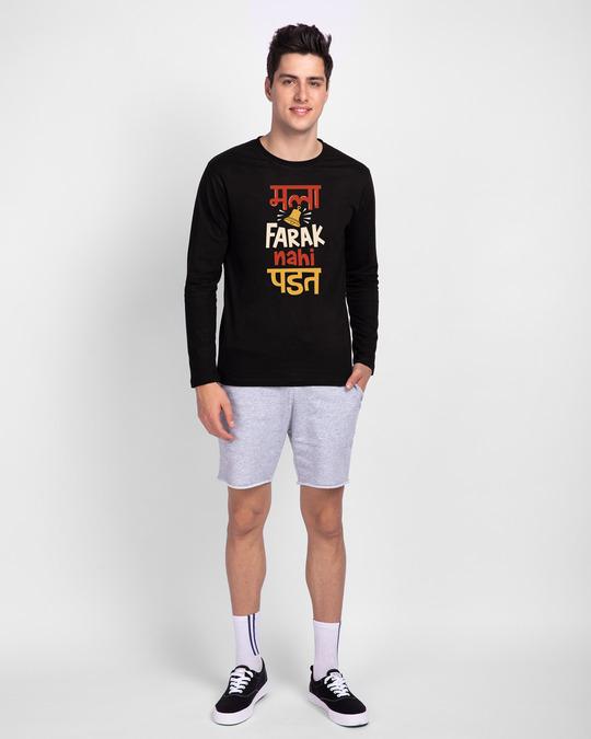 Shop Farak Nahi Padat Full Sleeve T-Shirt Black-Design
