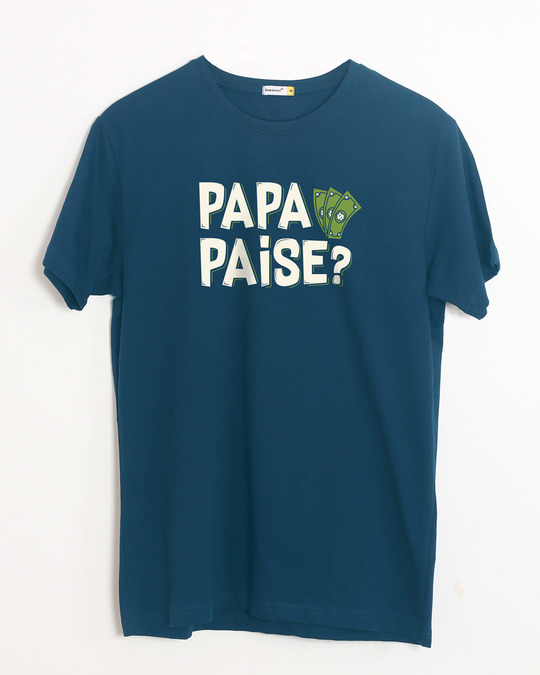 Shop Fathers Day Half Sleeve T-Shirt-Front