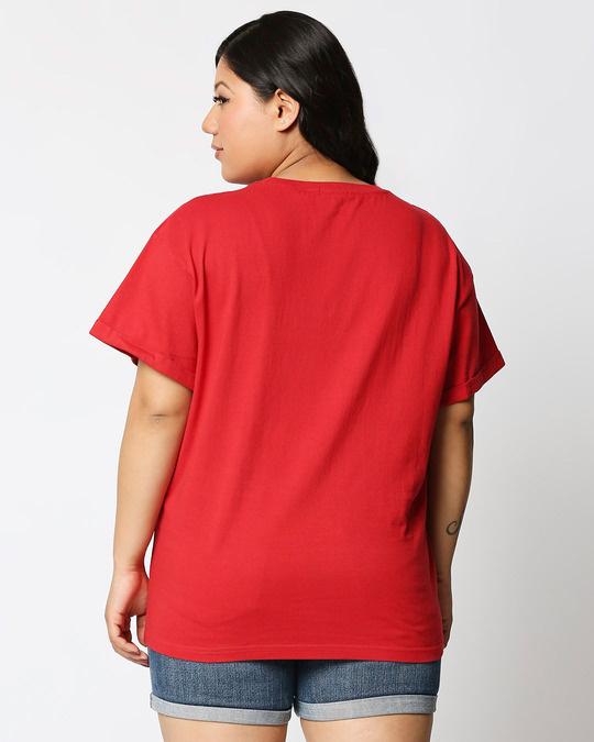 Shop Fatitude Boyfriend Plus Size T-Shirt-Design
