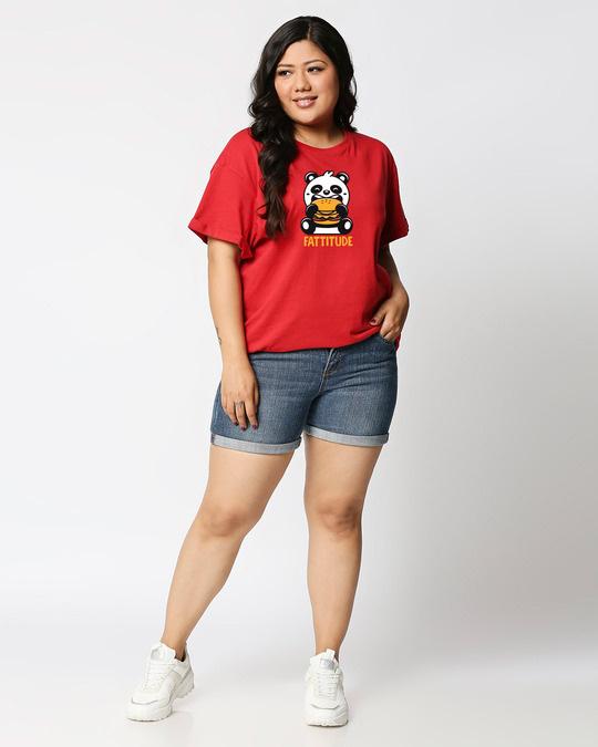 Shop Fatitude Boyfriend Plus Size T-Shirt-Full
