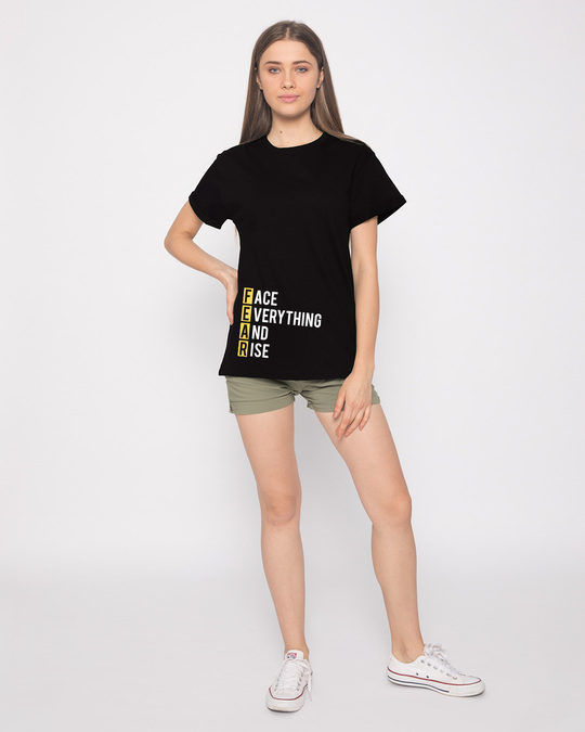 Shop Fear Boyfriend T-Shirt