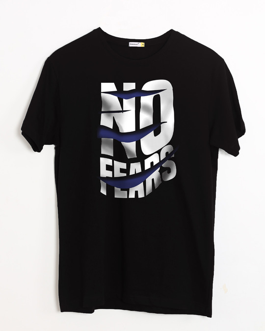 Shop Fear Not Half Sleeve T-Shirt-Front