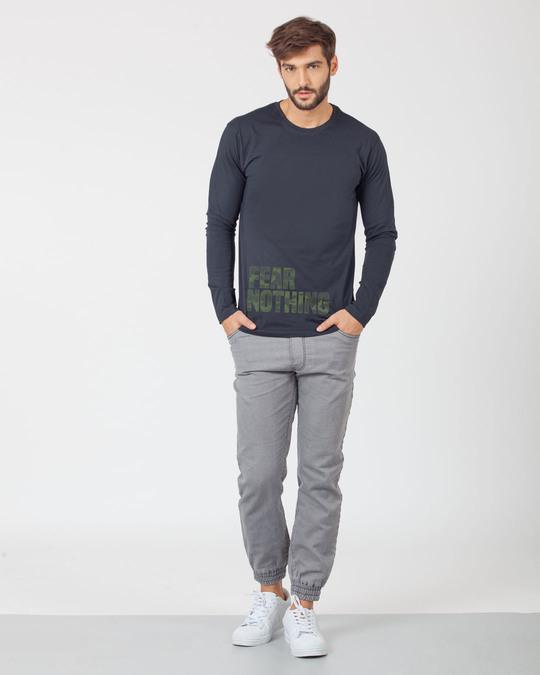 Shop Fear Nothing Camo Full Sleeve T-Shirt-Full