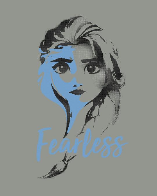 Shop Fearless Elsa (Frozen) Fleece Light Sweatshirt (DL)-Full