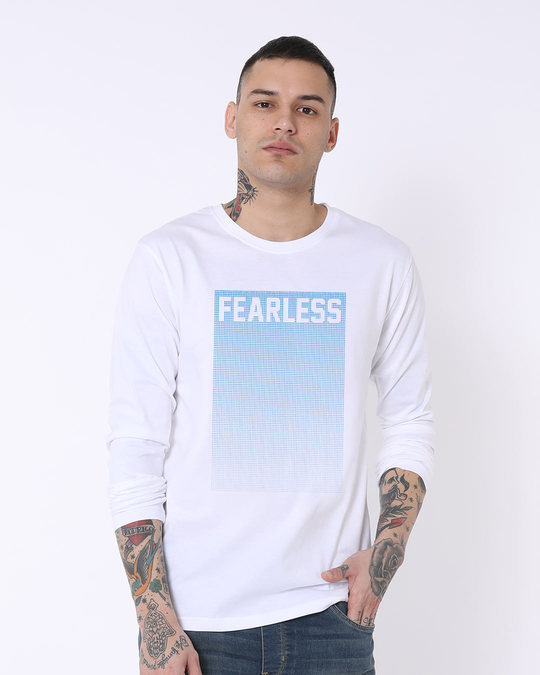 Shop Fearless Full Sleeve T-Shirt-Front