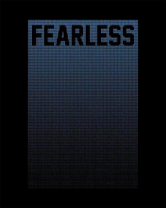 Shop Fearless Half Sleeve T-Shirt