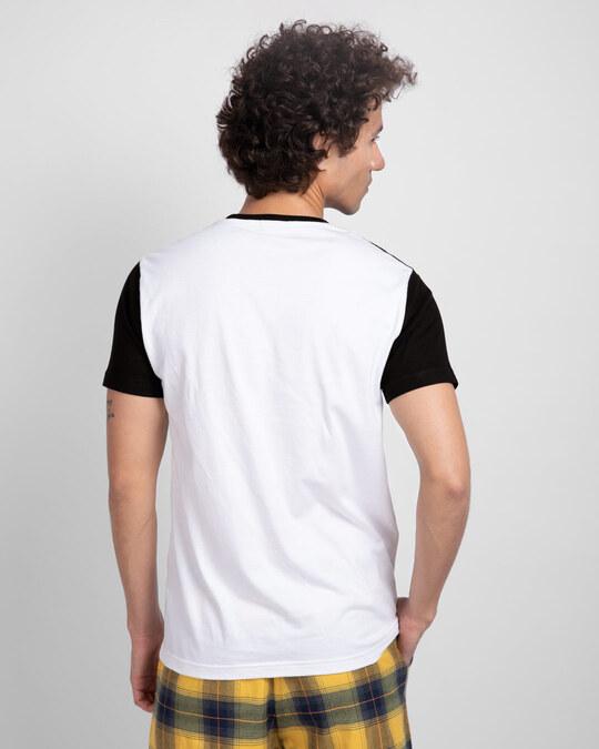 Shop Fearless Positive Negative Color Block T-Shirt-Back