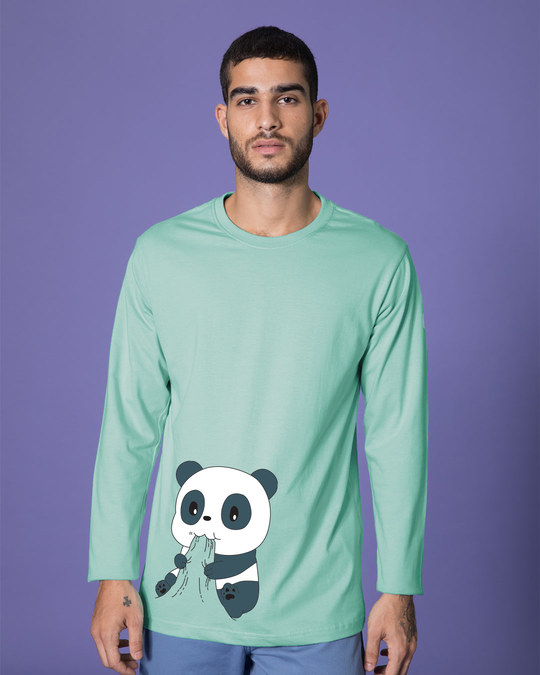 Shop Feed Me Full Sleeve T-Shirt-Front