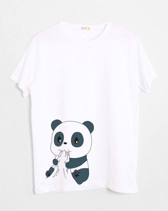 Shop Feed Me Half Sleeve T-Shirt-Front