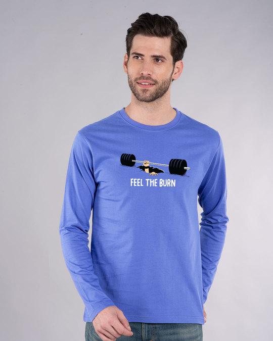Shop Feel The Burn Full Sleeve T-Shirt-Front