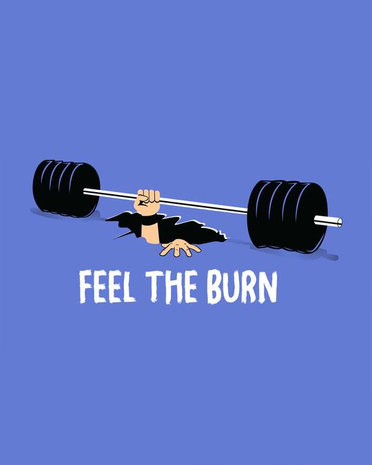 Shop Feel The Burn Full Sleeve T-Shirt